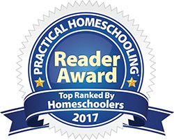 picture of Practical Homeschooling Award for 2017